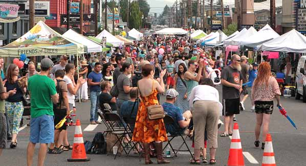 Montavilla Neighborhood Street Fair Portland