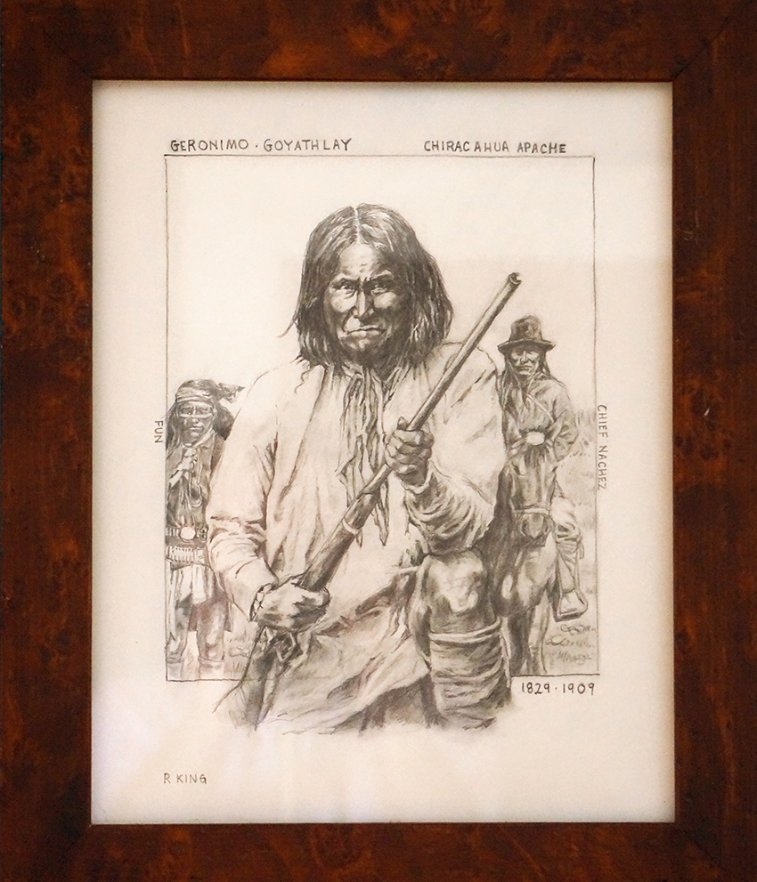 Geronimo by Robert King