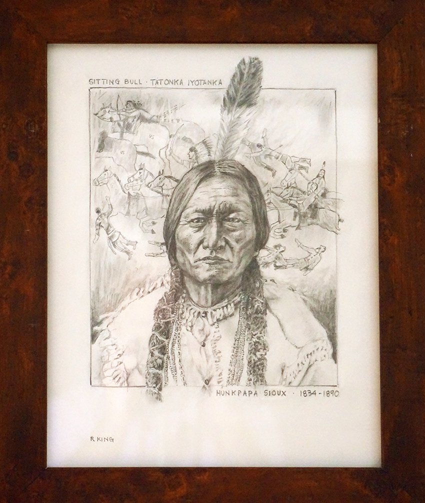 Sitting Bull by Robert King