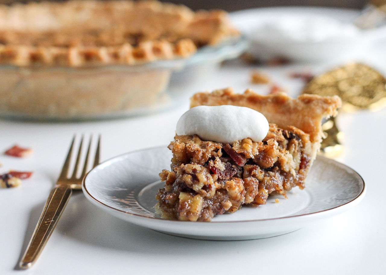 maple bacon pie