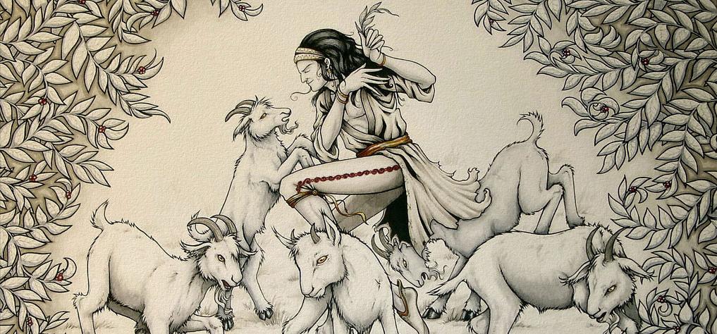 Ethiopian shepherd goat coffee story
